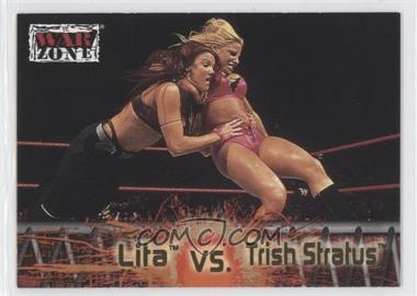 2001 Fleer WWF Raw is War #66 - Lita vs. Trish Stratus