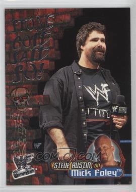 2001 Fleer WWF Wrestlemania - Stone Cold Said So! #12 SC - Mick Foley
