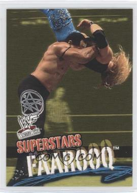 2001 Fleer WWF Wrestlemania #47 - Faarooq