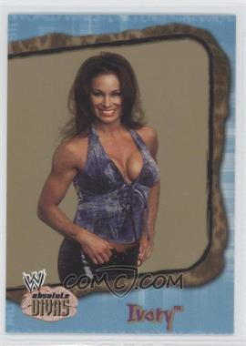 2002 Fleer WWE Absolute Divas Diva Gems Gold #18 - Ivory