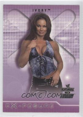 2002 Fleer WWE RAW vs SmackDown! eX-posure #2 XP - Ivory