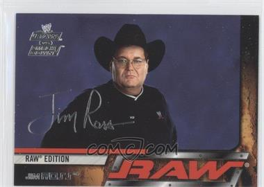 2002 Fleer WWE RAW vs SmackDown! #5 - Jim Ross