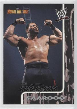 2002 Fleer WWE Royal Rumble - [Base] #40 - Faarooq