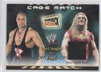 Kurt Angle vs. Edge