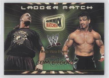 2002 Fleer WWE Royal Rumble [???] #3 - Rob Van Dam vs. Eddie Guerrero (Ladder Match)