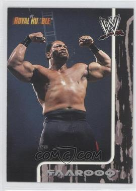 2002 Fleer WWE Royal Rumble [???] #40 - Faarooq