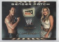 The Rock vs. Trish Stratus (Gender Match)