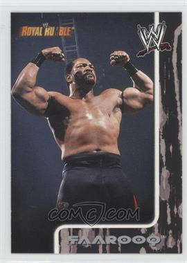 2002 Fleer WWE Royal Rumble #40 - Faarooq