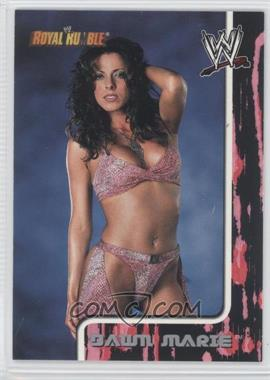 2002 Fleer WWE Royal Rumble #72 - Dawn Marie