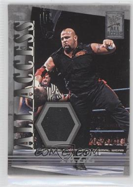 2002 Fleer WWF All Access - All Access Materials #AAM-T - Tazz