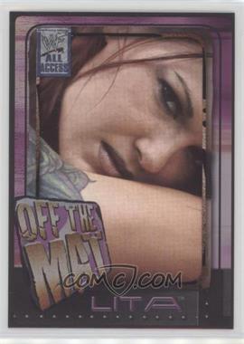 2002 Fleer WWF All Access - [Base] #53 - Off The Mat - Lita