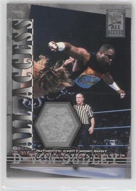 2002 Fleer WWF All Access All Access Materials #AAM-DVD - D-Von Dudley