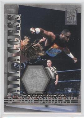 2002 Fleer WWF All Access All Access Materials #AAM-DVD - D-Von Dudley