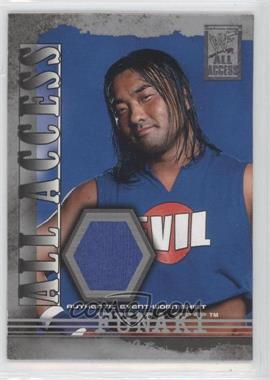 2002 Fleer WWF All Access All Access Materials #AAM-F - Funaki