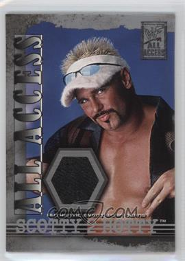 2002 Fleer WWF All Access All Access Materials #AAM-SH - Scotty Too Hotty