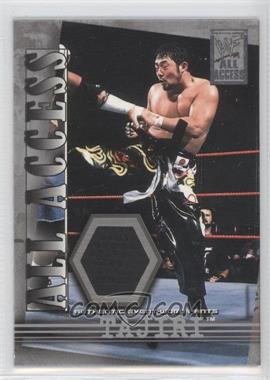 2002 Fleer WWF All Access All Access Materials #AAM-T - Yoshihiro Tajiri