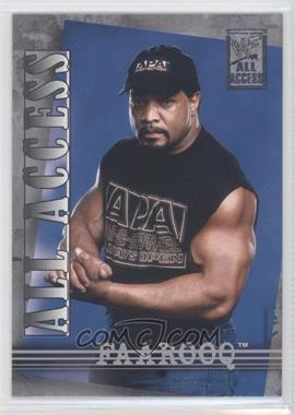 2002 Fleer WWF All Access #21 - Faarooq