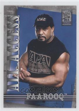 2002 Fleer WWF All Access #21 - Faarooq