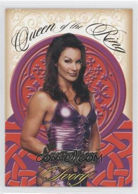 2003 Fleer WWE Aggression - Queen of the Ring #2QR - Ivory