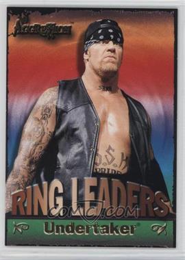 2003 Fleer WWE Aggression - Ring Leaders #6 RL - Undertaker