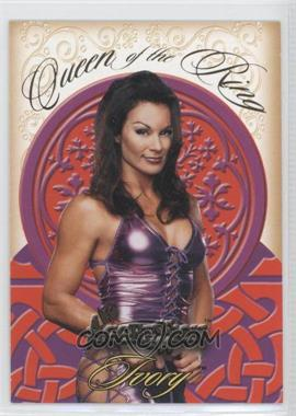 2003 Fleer WWE Aggression Queens of the Ring #2QR - Ivory