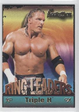 2003 Fleer WWE Aggression Ring Leaders #1 RL - Triple H