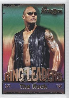 2003 Fleer WWE Aggression Ring Leaders #2 RL - The Rock