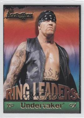 2003 Fleer WWE Aggression Ring Leaders #6 RL - Undertaker