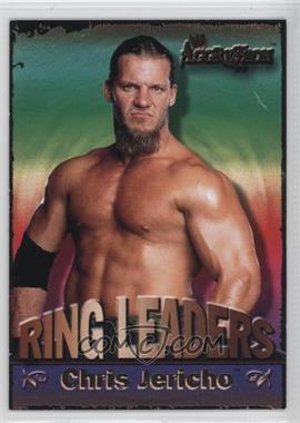 2003 Fleer WWE Aggression Ring Leaders #8 RL - Chris Jericho