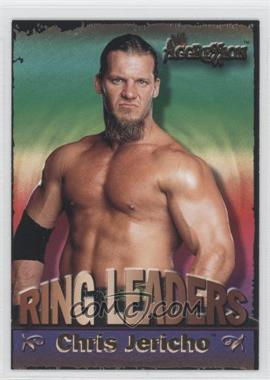 2003 Fleer WWE Aggression Ring Leaders #8 RL - Chris Jericho