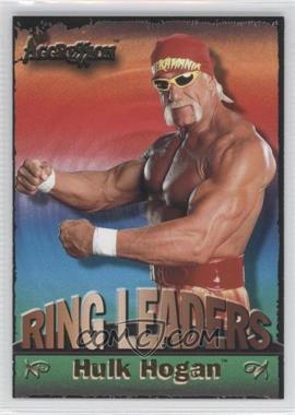 2003 Fleer WWE Aggression Ring Leaders #9 RL - Hulk Hogan