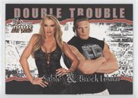 Double Trouble - Sable, Brock Lesnar