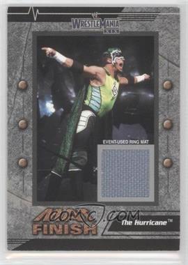 2003 Fleer Wrestlemania XIX Mat Finish #NoN - The Hurricane