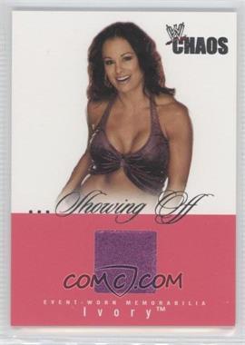 2004 Fleer WWE Chaos - ...Showing Off - Memorabilia [Memorabilia] #SO-N/A - Ivory