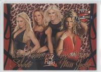 Sable, Stacy Keibler, Torrie Wilson, Miss Jackie