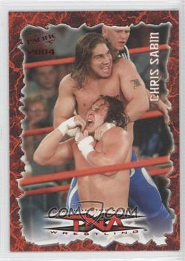 2004 Pacific TNA Red #38 - Chris Sabin