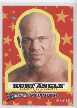 2005 Topps Heritage WWE Stickers #6 - Kurt Angle