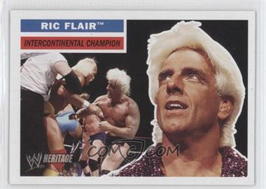 2005 Topps Heritage WWE #25 - Ric Flair