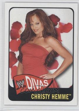 2005 Topps Heritage WWE #62 - Christy Hemme