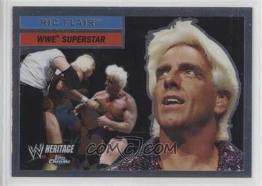 2006 Topps Chrome WWE Heritage - [Base] #25 - Ric Flair