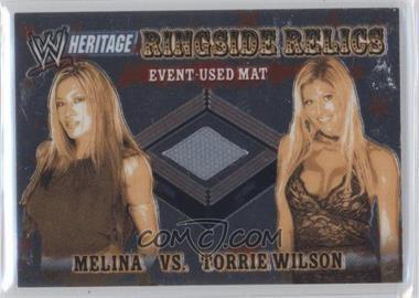 2006 Topps Chrome WWE Heritage - Ringside Relics #N/A - Melina, Torrie Wilson
