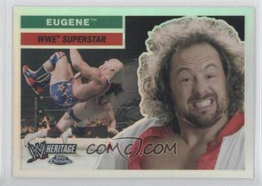2006 Topps Chrome WWE Heritage Refractor #18 - Eugene