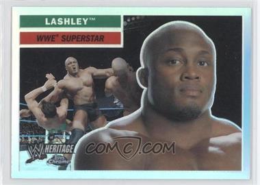 2006 Topps Chrome WWE Heritage Refractor #37 - Bobby Lashley