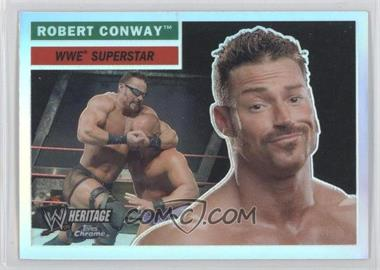 2006 Topps Chrome WWE Heritage Refractor #57 - Rob Conway