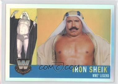 2006 Topps Chrome WWE Heritage Refractor #78 - Iron Sheik