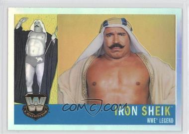 2006 Topps Chrome WWE Heritage Refractor #78 - The Iron Sheik