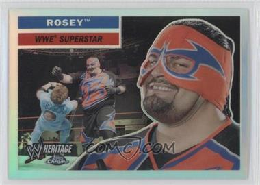2006 Topps Chrome WWE Heritage Refractor #9 - Rosey