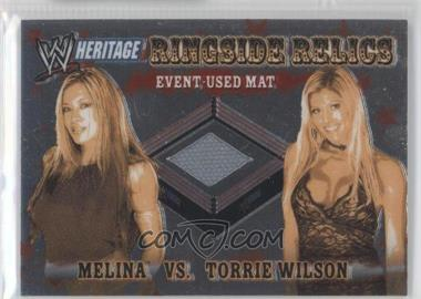 2006 Topps Chrome WWE Heritage Ringside Relics #N/A - [Missing]