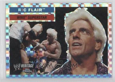 2006 Topps Chrome WWE Heritage X-Fractor #25 - Ric Flair