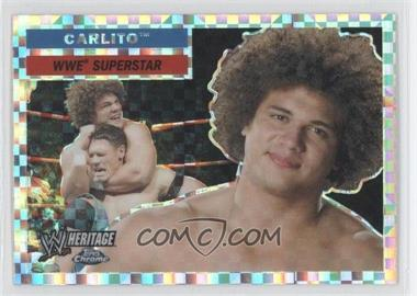 2006 Topps Chrome WWE Heritage X-Fractor #3 - Carlito
